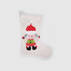 Calcetín navideño Señora Claus