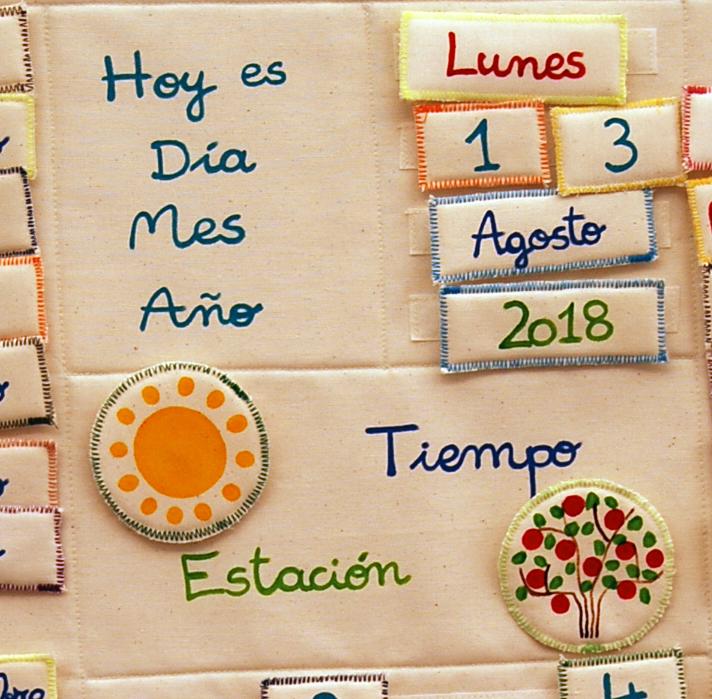 detalle del calendario